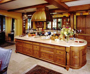 Interior Custom Made Kitchen luchon cabinet and woodworks llc custom made kitchens cabinets radius kitchen island